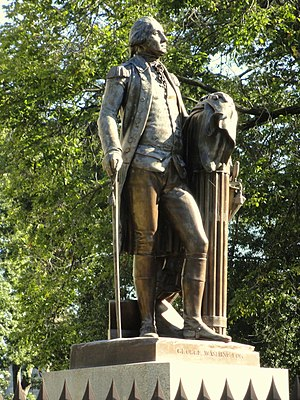 George Washington (Houdon) - Image: George Washington by Jean Antoine Houdon DSC05827