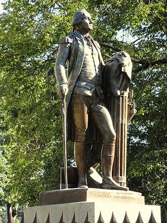 George Washington (Houdon) - Image: George Washington by Jean Antoine Houdon DSC05827