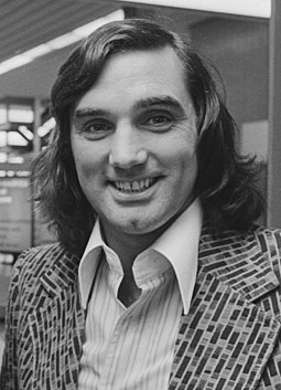 George Best, Northern Irish international footballer and 1968 Ballon d'Or George best 1976.jpg