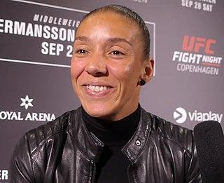 Germaine de Randamie Dutch kickboxer and MMA fighter