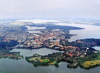 Lake Schwerin - Image: Germany schwerin aerial view Ar M