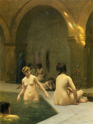 Public baths erotic