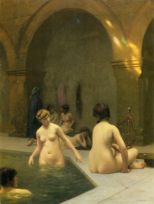 Women in Public Bath