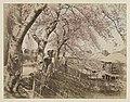 Gezicht op de Kersenlaan in Mukojima bij Tokyo Mukojima Cherry Avenue, Tokio. (titel op object), RP-F-F01206-J.jpg