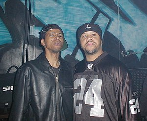 Ghettotech - DJ Assault (right) with  DJ Funk (left).