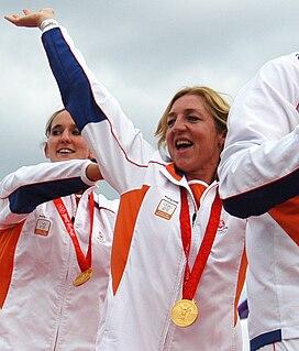 Gillian van den Berg water polo player