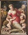 Giovan battista naldini e giovanni balducci, sacra famiglia tra santi, 1578, da spedale m&dolce 02.jpg