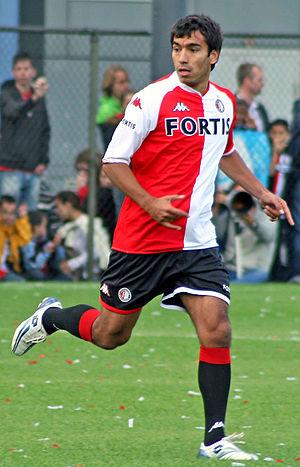 Giovanni van Bronckhorst - Van Bronckhorst at Feyenoord in 2007