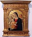 Girolamo di benvenuto, madonna col bambino e i ss. girolamo e bernardino, 1500-10 circa, da duomo di grosseto, cornice neorinascimentale 01.JPG