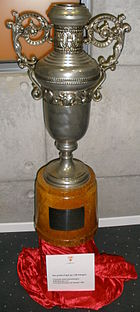 Girondins de Bordeaux Centenary tournament trophy