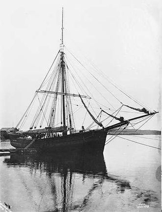 Gjøa - Gjøa in 1903, at the time of the Northwest passage expedition