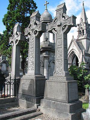 John O'Leary (Fenian) - Stephens and O'Leary buried side by side
