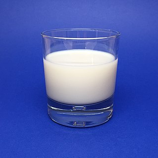 Milk White liquid produced by the mammary glands of mammals
