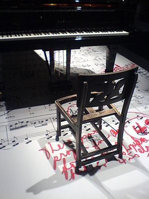 Glenn Gould - A replica of Glenn Gould's chair