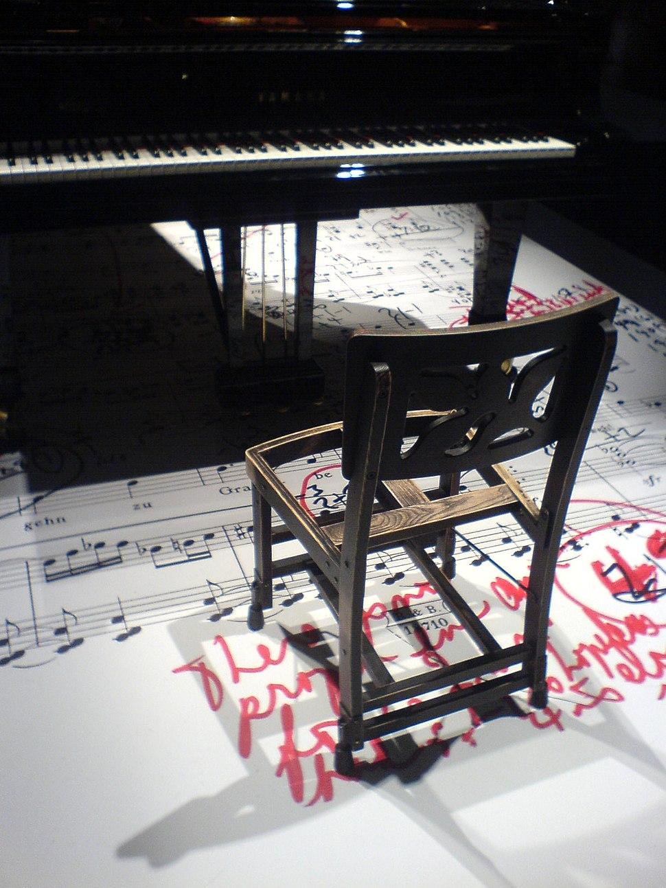 Glenn Gould%27s chair