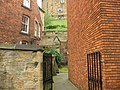 Glimpse of Castle Keep from Saddler Street - geograph.org.uk - 256506.jpg