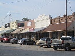 Glimpse of downtown Franklin, TX IMG 2279.JPG