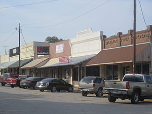 Franklin, Texas - Image: Glimpse of downtown Franklin, TX IMG 2279