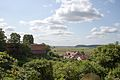 Gniew, view from the edge of the Castle Hill.jpg