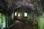 Gościszów Ruiny zamku ksiazecego pomieszczenia w przyziemiu 08.JPG
