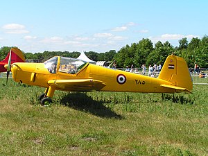 Bücker Bü 181 - Egyptian Air Force Gomhouria Mk.6 285 at Gilze-Rijen airbase, the Netherlands
