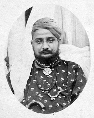 Chamba State - Gopal Singh, Raja of Chamba (ruled 1870-1873)