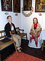 Gorals in the traditional interior from Beskid Zywiecki region - part of the ethnographic exhibition Zywiec Town Museum.jpg