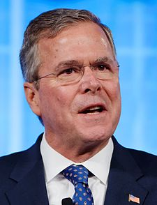Governor of Florida Jeb Bush at Southern Republican Leadership Conference May 2015 by Michael Vadon 16.jpg