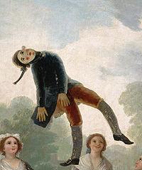 Pelele, Goya