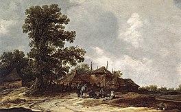 Goyen 1632 Farmyard with Haystack.jpg
