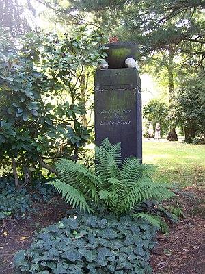Rudolf Kittel - Gravestone of Rudolf Kittel, Südfriedhof (Leipzig).