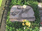 Grabstein Stefan Bellof Neuer Friedhof Gießen 2