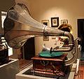 Grammofono pathe, modele G, del 1904-05, museo caruso 01.JPG