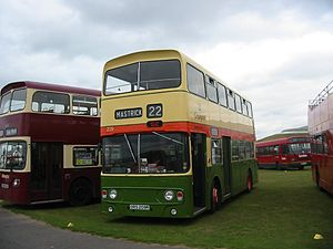 First Aberdeen - Preserved Alexander AL bodied Leyland Atlantean in Grampian Regional Transport livery