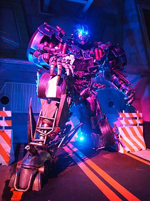 Grand opening of Transformers The Ride at Universal Studios Singapore (6444024849).jpg