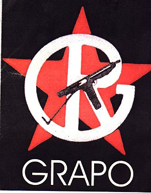 First of October Anti-Fascist Resistance Groups - GRAPO main logo