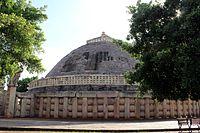 Granda Sanchi Stupa Side-view.jpg