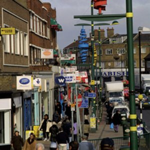 London Borough of Newham - Green Street where the population is predominantly South Asian