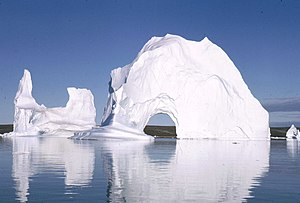 Scoresby Sound - Icebergs in July, 1970