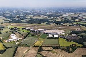 Münster Osnabrück International Airport - Aerial overview