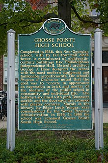 Grosse Pointe South High School historic site.jpg