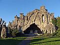 Grotte de Lourdes de L'Hôpital (Moselle).jpg