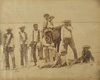 Group of Hawaiian boys with horse, photo taken by Christian Hedemann.jpg