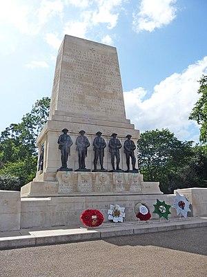 Horse Guards Parade - The Guards Memorial.