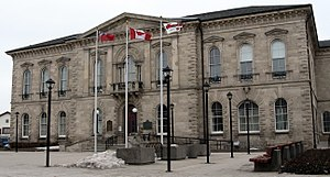 Old City Hall (Guelph) - Old City Hall in 2007