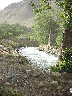 Gulbahar, Afghanistan - Image: Gulbahar, Shutool River