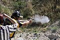 Gun powder smoke at the 2013 IPSC Australasian Handgun Championship.jpg