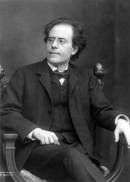 Gustav Mahler by Dupont (1909)