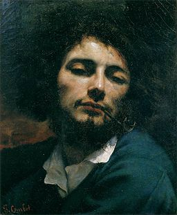 Gustave Courbet - Self-Portrait (Man with Pipe) - WGA05491