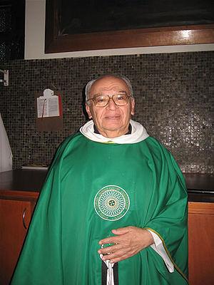 Fotografía de Gustavo Gutiérrez Merino, teólog...